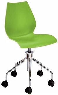Kartell 2876VV Chaise à roulettes Maui (Vert)