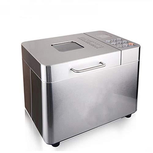 Panificadora Automática Gran capacidad Máquina para hacer pan Ajustable Acero Inoxidable Horneado rápido Más multifuncional Herramientas de cocina Fabricante de pan de panadería Fácil de limpiar