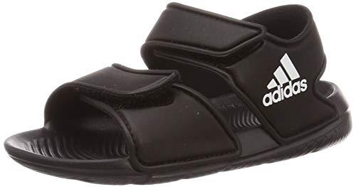 adidas Altaswim C, Basket mixte enfant, Core Black/Ftwr White/Core Black, 34 EU