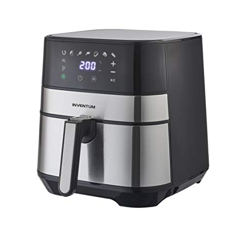 Inventum GF500HLD friggitrice Hot air fryer 5 L Singolo Nero, Acciaio inossidabile Indipendente 1700 W