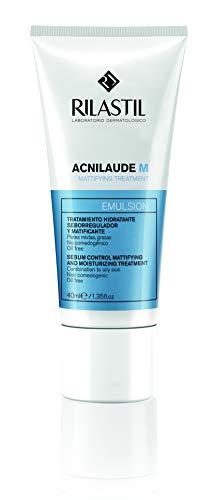 Rilastil Acnilaude M - Emulsión Seborreguladora y Matificante para Pieles Mixtas y Grasas - 40 ml