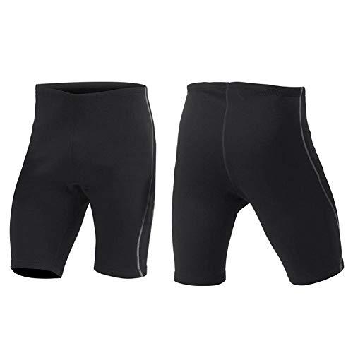 Pantalones Cortos de Buceo, 2 mm Pantalones Cortos de Neopreno de Snorkel Unisex Pantalones de Traje de Neopreno Equipo de Buceo para Surf Playa Buceo Snorkel Natación(L)