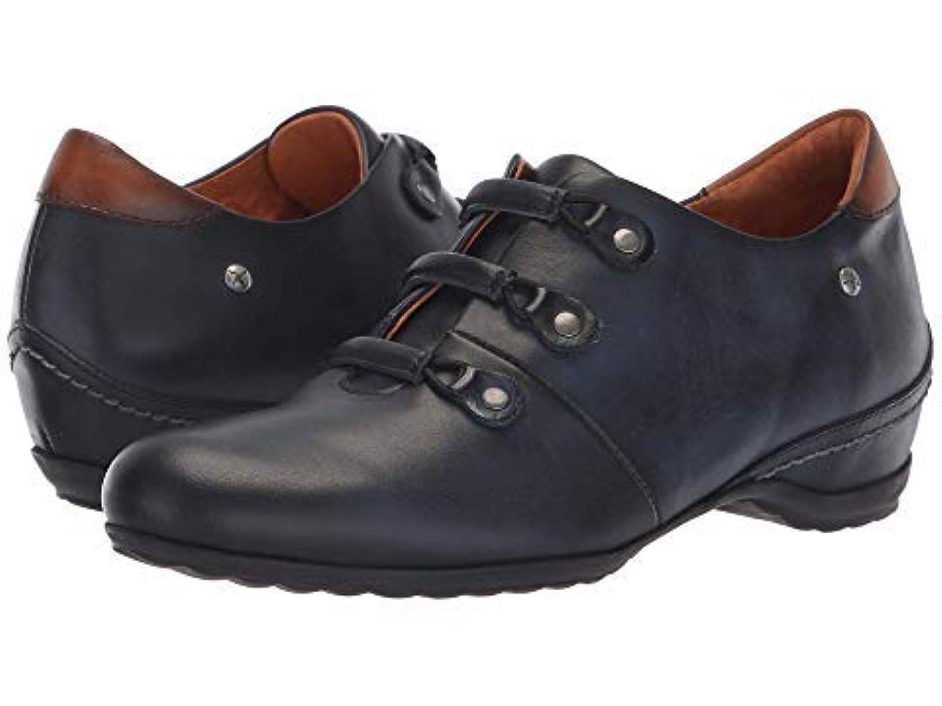 超越する工業用パイロットレディースレースアップ?オックスフォード?靴 Venezia 968-4754 Blue Brandy 37 (US Women's 6.5-7) B - Medium [並行輸入品]