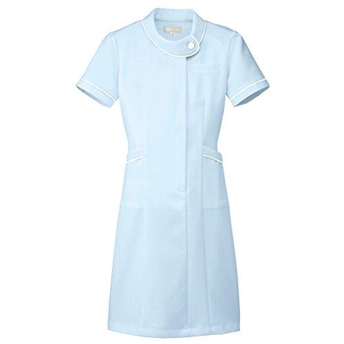 【Lumiere】ルミエール ナース 看護師用 女性用 白衣 診察衣 ワンピース (861110) サックス 3L