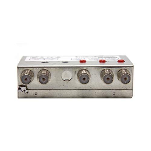 imesudeurope.online Amplificateur de mât 27 dB 3 places. avec double sortie – Niveau de sortie 104 dBµV – Immune des troubles LTE/4G – Fabriqué en Italie