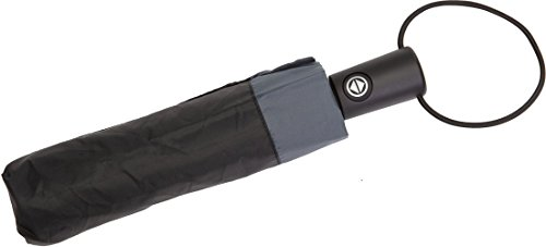 Totes Unisex Regenschirm Schwarz