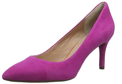Rockport Damen Total Motion 75mm Pointy Toe Plain Pump Pumps, Pink (Magenta 008), 38 EU