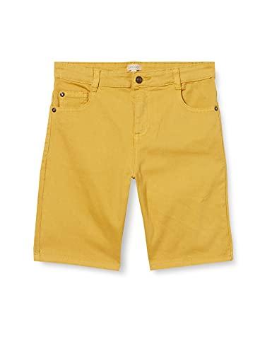 Gocco Bermuda 5 Bolsillos Pantalones, Verde Lima, 4-5 años para Niños