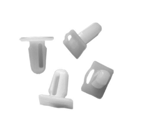 myshopx Rivets en plastique C94 - Pour protection anti-encastrement - Clips de fixation pour revêtement de portière - Clips de fixation pour pare-chocs