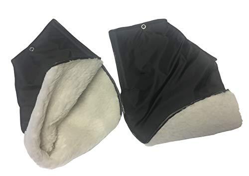 1 Paar Handwärmer Handmuff für Rollator und Rollstuhl, warme Handschuhe zum Verbleib am Griff
