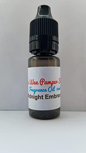 Aceite de fragancia inspirado en Midnight Embrace para cera derretida, jabones, lociones corporales, 10 ml para hacer velas, aroma