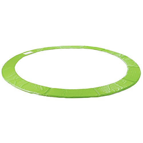 Arebos Trampolin Randabdeckung/183, 244, 305, 366, 396, 427, 457 oder 487 cm/Hellgrün (396 cm)