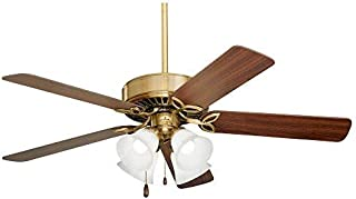 Emerson Ceiling Fans CF711AB Pro Series II Indoor Ceiling Fan With Light, 50-Inch Blades, Antique Brass Finish