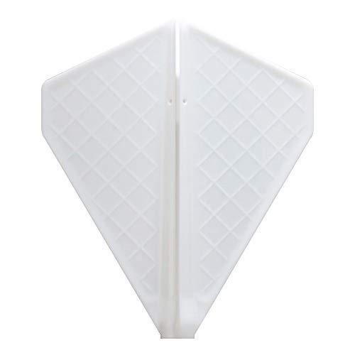 Cosmo darts flights v series v-5 white