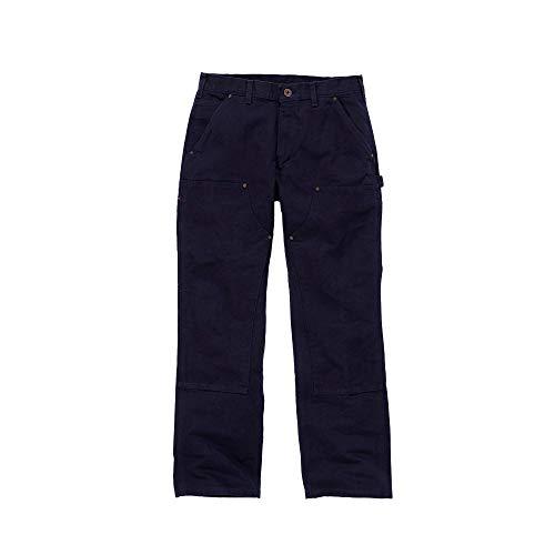 Carhartt Workwear Hose Washed Duck Work Dungaree Arbeitshose, Größe 31 / 34, dunkelblau EB136