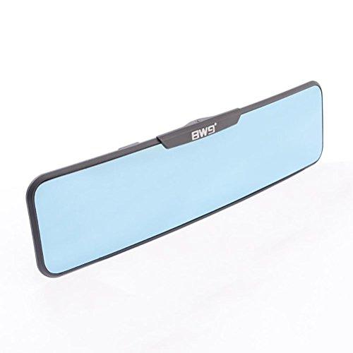 Sheiy Espejo retrovisor Antideslumbrante Azul Tinte Espejo retrovisor Interior Convexo Clip fácil en Punto Ciego de Seguridad,  Blue
