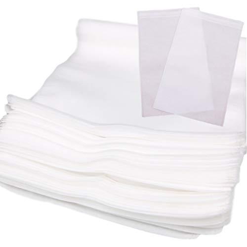 Sweet+ 不織布袋 収納袋 保管袋 クロスパック ラッピング シューズ バッグ 衣類 巾着 保管 袋 (35*40 100枚)