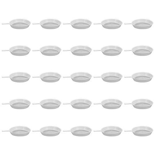 YARNOW Filtro de Fugas de Malla Fina Filtro de Hojas de Té Filtro de Malla Infusor de Hierbas Tamiz de Cocina para Harina Yogurt Leche de Soja Dispositivo Cuchara Caliente 100 Piezas