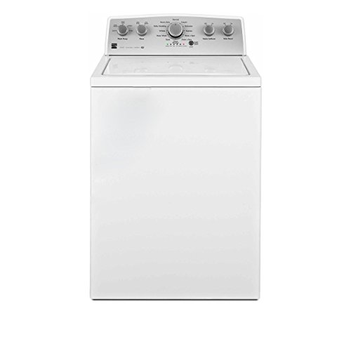 Kenmore 25132 Top-Load Washer with 4.3 cu. ft. Total Capacity Triple Action Impeller, White