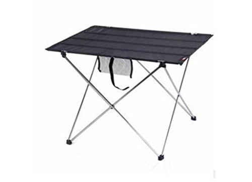 HNHX Klapp Picknicktisch Klapptisch Outdoor Schaukel Tisch Tragbaren Tisch Angeln Freizeit Tisch Schwarz 570 * 420 * 380 MM Serviertisch (Color : #2)