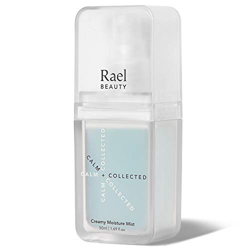 Rael Creamy Moisture Facial Mist - Hydrating Facial Spray with Hyaluronic Acid and Bamboo Extract, For On-The-Go, Clean Vegan Natural Skincare, All Skin Types (1.69oz, 50ml)