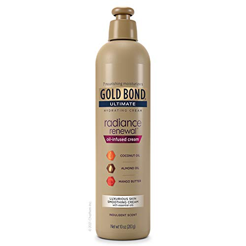Gold Bond Radiance Renewal Oil-Infused Cream with Essential Oils, 10 Oz