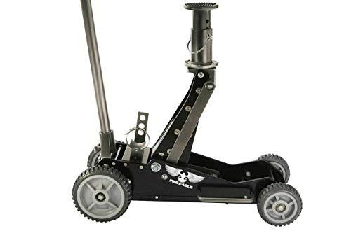 Pro Eagle PE-ORJ3B4X 3 Ton Aluminum Floor Jack Big Wheel Kratos (Black)
