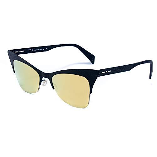 italia independent 0504-CRK-009 Gafas de sol, Negro, 51 para Mujer