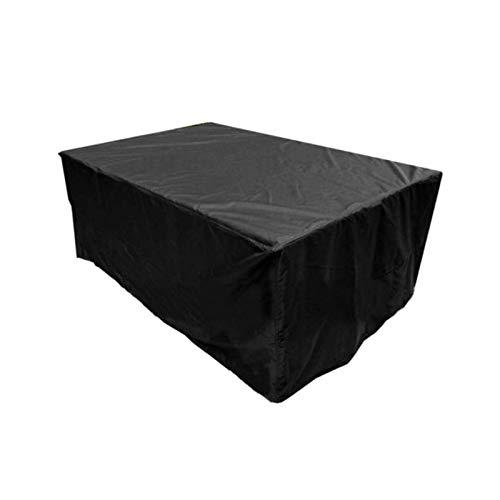 Fundas para muebles de jardín a prueba de agua 250x200x80cm, fundas para muebles de patio al aire libre, funda para sillas de mesa, resistente al agua, resistente, duradero, lluvia, nieve, polvo, vi