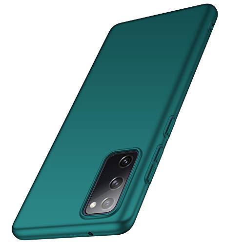 anccer - Funda para Samsung Galaxy S20 FE (ultrafina), anticaída, material de primera calidad, protección completa, para Samsung S20 FE, color verde