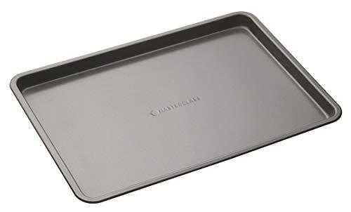 MasterClass, Antihaft-Backblech, Kohlenstoffstahl, BPA-freies Blech zum Backen und Grillen, 35 x 25 cm