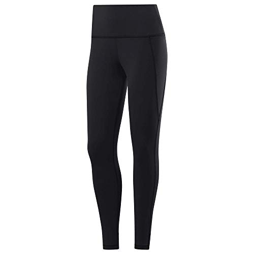 Reebok Damen Os Lux High-Rise Tight Netze, schwarz, L