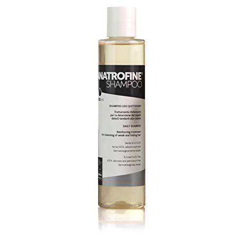 Shampoo ANATROFINE | Shampoo anticaída para hombre - mujer | Natural | Fortificante para cabello débil y propenso a caerse | 200 ml