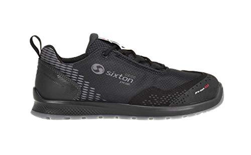 SIXTON Sicherheitsschuhe Auckland S3 SRC, Farbe:schwarz, Schuhgröße:43 (UK 8.5)