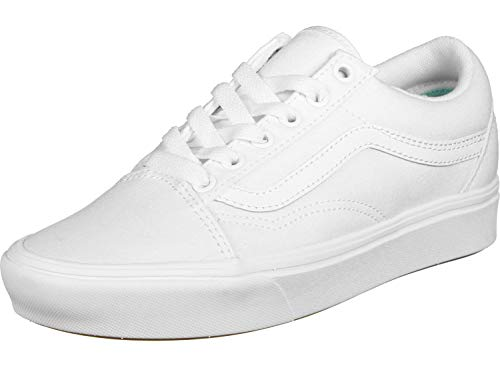 Vans Unisex UA ComfyCush Old S Sneaker, Weiß ((Classic) True Vnvng), 39 EU