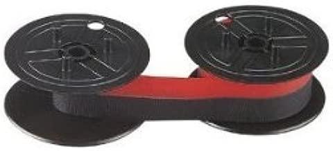 Nu-kote Model NK80BRC-2 Red/Black Nylon Ribbons, Pack Of 2
