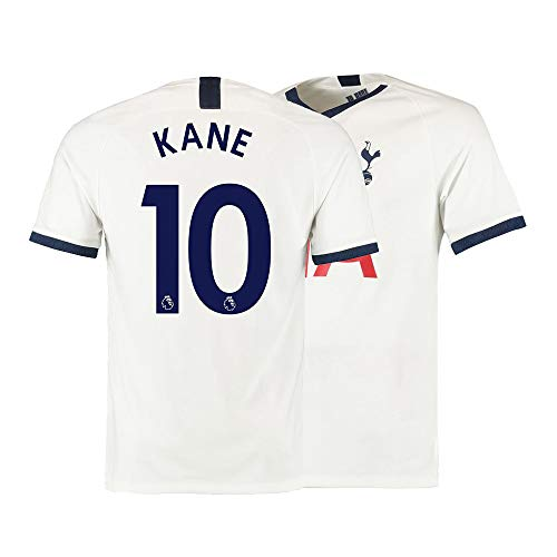 Fcdraon Herren Kane Trikot 10 Home Soccer 2019/2020 Tottenham Hotspur Harry -  Weiß -  Groß