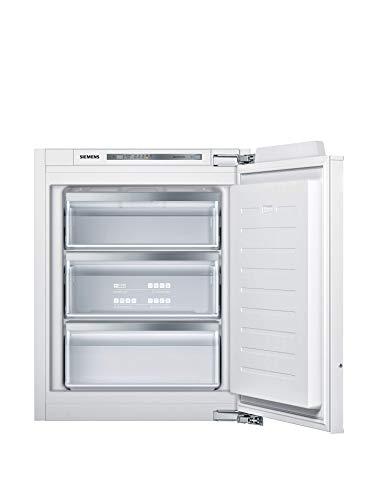 Siemens GI11VADE0 iQ500 Einbau-Gefrierschrank / E / 167 kWh/Jahr / 72 l / lowFrost / freshSense / softClosing Tür