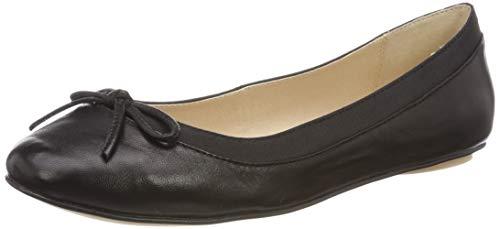 Buffalo Damen ANNELIE Geschlossene Ballerinas, Schwarz (Black 000), 38 EU
