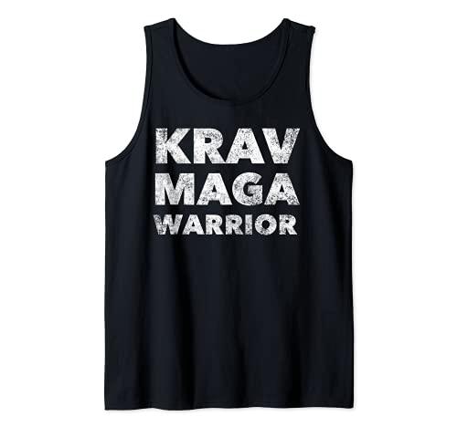 Krav Maga Warrior - Cita de artes marciales Camiseta sin Mangas