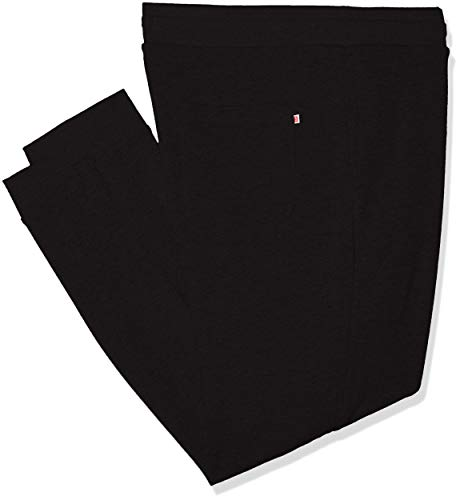 JACK & JONES Herren JJEHOLMEN Sweat Pants Plus Hose, Schwarz (Black Detail: Ps), 62(Herstellergröße: 5XL)