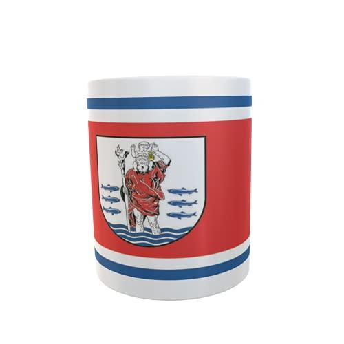 U24 Tasse Kaffeebecher Mug Cup Flagge Kappeln