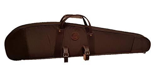 CAZA Y AVENTURA Chasse et Aventure electrónica Rey® matelassée en Cordura pour rile monté avec viseur avec Colliers de Chaise 105 cm