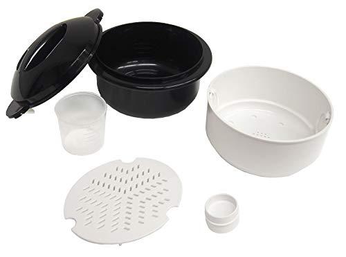 富士パックス販売電子レンジ調理用品圧力弁でおいしく炊ける電子レンジ用炊飯器