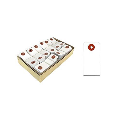 長門屋商店 荷札 タグ ニ-7406 針金なし 6号 (小) 1000枚 5箱セット【5000枚入】