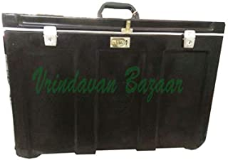 Vrindavan Bazaar Fiberglass Flight case for Indian Portable Scale Changer Harmonium Case