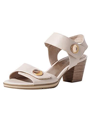 Jana Damen Sandalette 8-8-28328-26 405 beige H-Weite Größe: 42 EU