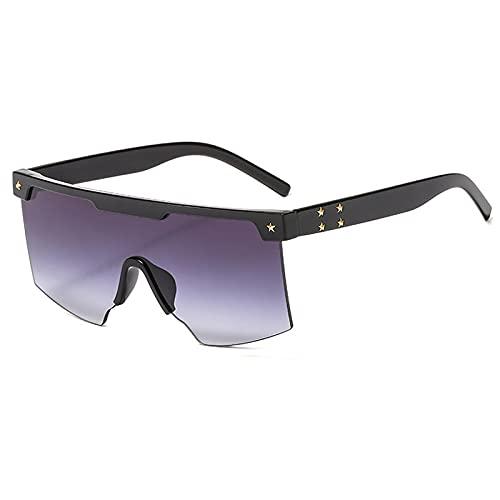 WANGZX Gafas De Sol Retro Súper Grandes para Mujer