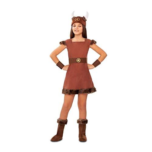 MY OTHER ME FUN COMPANY, SL Wikingerin Odin Kostüm für Mädchen A-(3/4 Jahre)