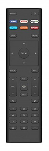 New XRT136 Remote Control Works for Vizio D24f-F1 D43f-F1 D50f-F1 E43-E2 E60-E3 E75-E1 M65-E0 M75-E1 P55-E1 P65-E1 P75-E1 and More